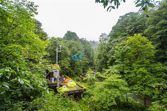 成都拓展基地之龙苍沟国家森林公园