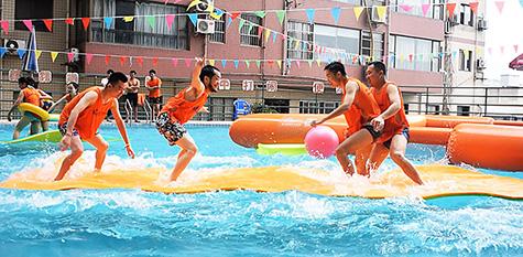 【海贼王传奇】水上情景模拟竞技活动