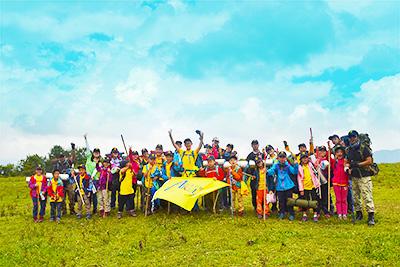 高原草甸亲子营——和孩子一起野