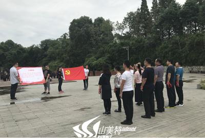 """中共中节能绿建西南分公司党支部""""不忘初心,继续前进""""党建活动"""
