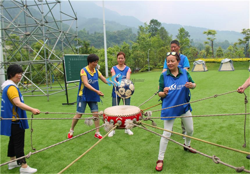 西安公司趣味运动会拓展